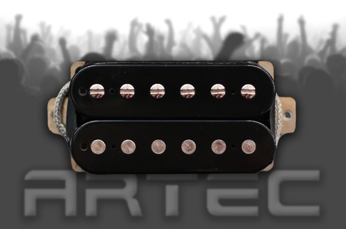 Artec DBK Classic Humbucker Pickup Bridge Black