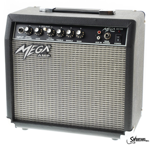 Mega GX15G 15 Watts Electric Guitar Amplifier