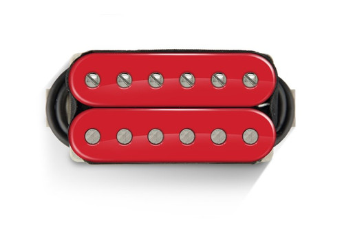 Bare Knuckle 6 ST The Mule Open Neck RED - Nickel Screws