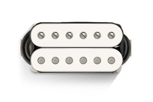Bare Knuckle 6 ST The Mule Open Neck WHITE - Nickel Screws