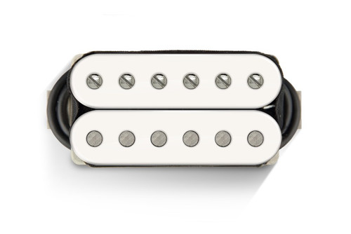 Bare Knuckle 6 ST VHII Open Neck White - Nickel Screws