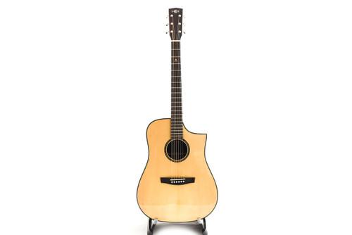Hex D400CE G NATURAL Acoustic Guitar w/Fishman EQ