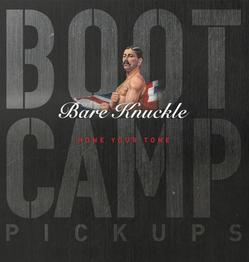Bare Knuckle Boot Camp - HUM6BTG-OBLK50 - Humbucker - True Grit - 6 String - Black Open 50mm - Bridge
