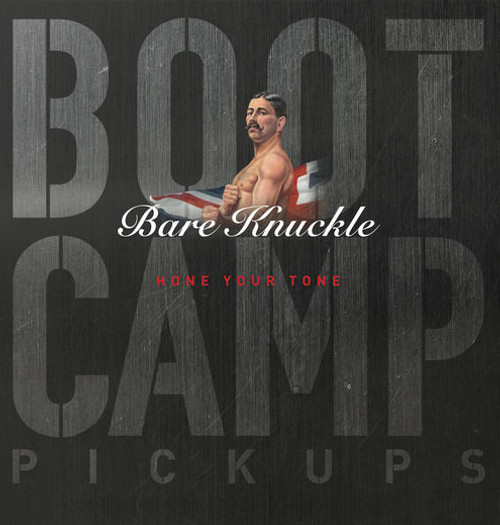 Bare Knuckle Boot Camp - STRNBF-WHI - Strat - Brute Force - White - Neck