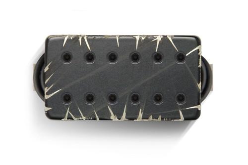 Bare Knuckle 6 ST Aftermath Covered Bridge BLACK BATTLEWORN - Black Bolt - Bridge 53MM Spacing