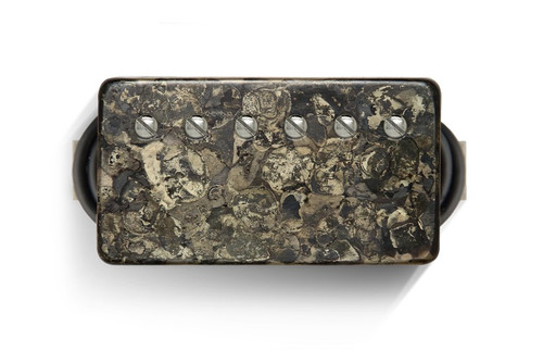 Bare Knuckle 6 ST Nailbomb Covered Neck Camo - Nickel Screws