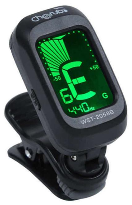 Cherub WST-2058B Digital Chromatic Clip-on Tuner