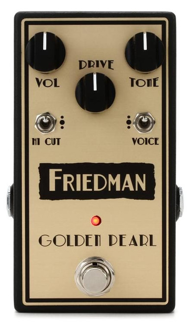 FLASH SALE - Friedman Golden Pearl Overdrive Pedal