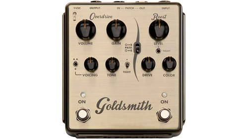 Egnater Goldsmith Overdrive/Boost Guitar Effects Pedal