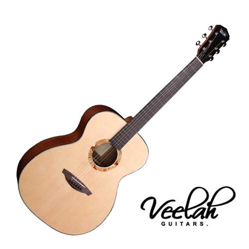 Veelah V2-OM EQ Acoustic Guitar