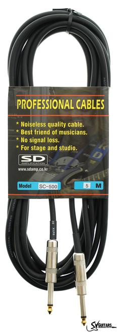 Sound Drive SC-500 5M Guitar Instrument Cable