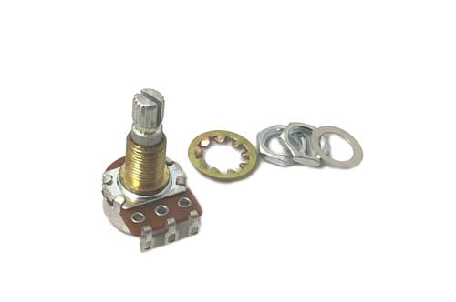 Tone Drive D-1420 A250K Pot, Brass Shank and Solid Split Shaft