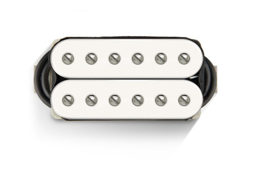 Bare Knuckle 6 ST Warpig Open Bridge White (Nickel Screws)