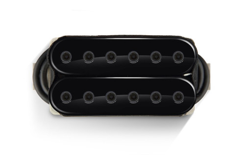 Bare Knuckle 6 ST Warpig Open Bridge Black (Black Bolts)