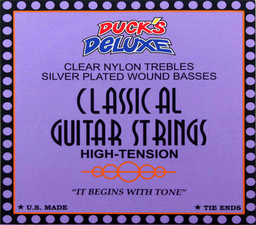 Dr Ducks Classical Guitar Nylon Strings - High Tension