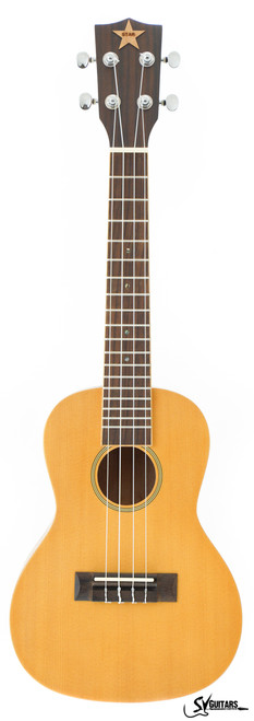 STAR 23 Natural FULL SOLID Concert Ukulele MODEL 2