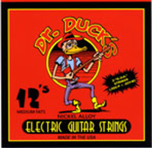 Dr. Duck's Medium-Fats Electric Guitar Strings .012-.052
