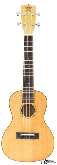 STAR 23 Natural FULL SOLID Concert Ukulele MODEL 3