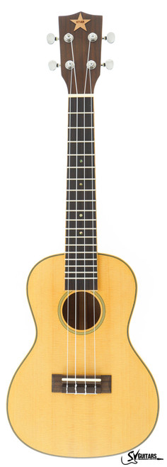 STAR 23 Natural FULL SOLID Concert Ukulele MODEL 1