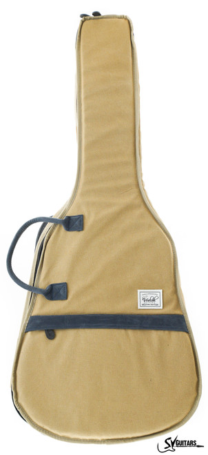 Veelah Khaki Deluxe Padded Acoustic Guitar Bag