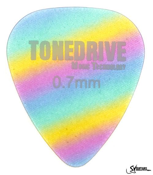 Tone Drive Rainbow Pick 0.7mm