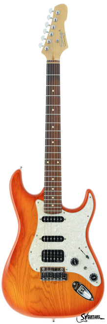Swing Studio HB Honey Burst Maple Fingerboard Electric Guitar