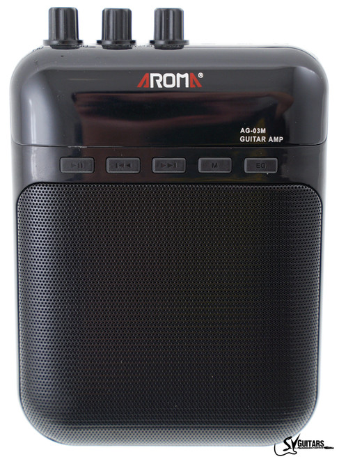 Aroma AG-03M Portable Guitar Amp Recorder Speaker