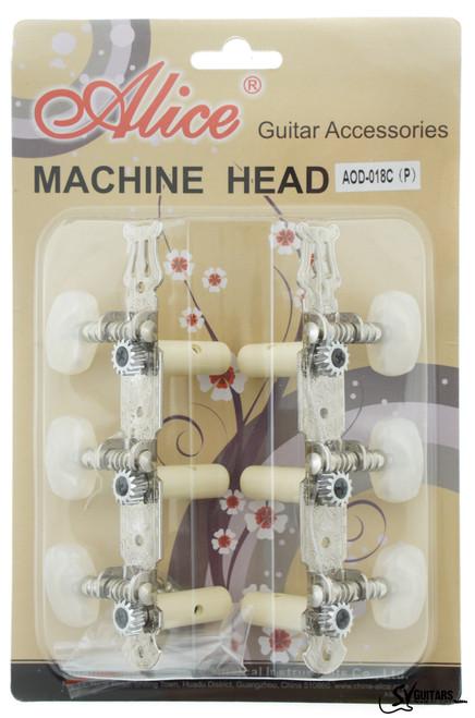 Alice AOD-018CP Classical Guitar Machine Head