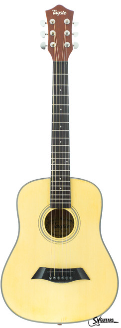 "Tayste T341 N 34"" Matt Natural Baby Traveller Acoustic Guitar"