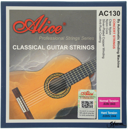 Alice AC130-H Hard Tension Coated Classical Guitar Strings
