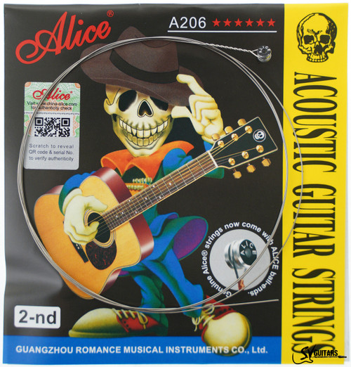 Alice A206-L-B2 016 Individual String for Acoustic Guitar