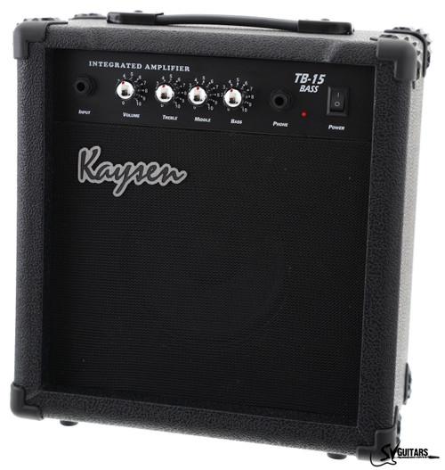 Kaysen TB-15 15 Watts Electric Bass Guitar Amplifier