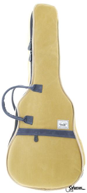 """Veelah 36"""" Khaki Deluxe Padded Acoustic Guitar Bag"""