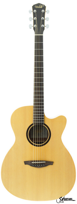 Veelah V1-OMC SHEQ Acoustic Guitar