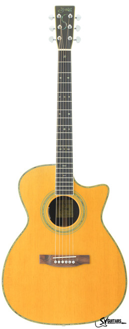 S.Yairi YF-35C EQ Acoustic Guitar