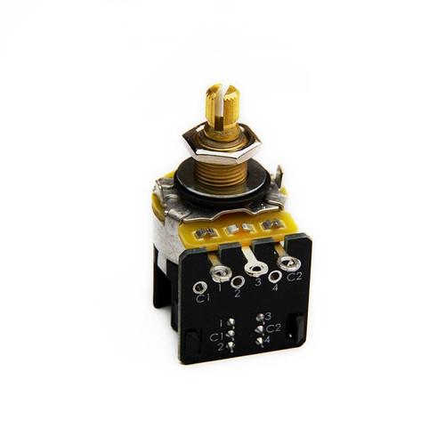 Bare Knuckle / CTS 280K Push Pull STANDARD SHAFT POT Potentiometer