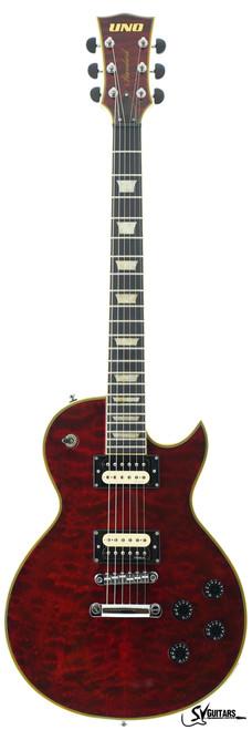 UNO LP Standard Red Tiger Electric Guitar