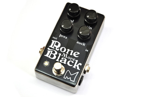 Menatone None More Black Guitar Effect Pedal