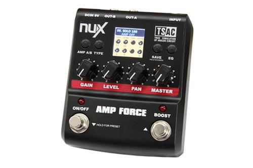 nuX AMP FORCE Modeling Amp Simulator