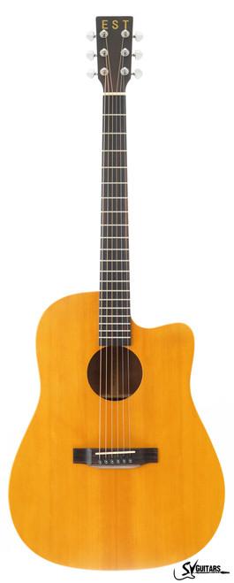 STAY HOME FLASH SALE - EST DS-1500C Acoustic Guitar w/ Cutaway