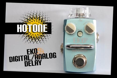 Hotone Skyline Series EKO Analog-Digital Delay Guitar Effects Pedal