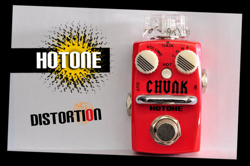 Hotone Skyline Series CHUNK Analog Distortion Guitar Effects Pedal