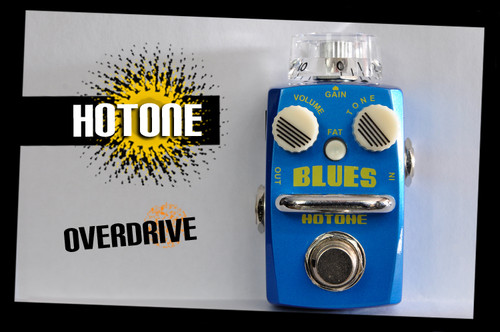 Hotone Skyline Series BLUES Overdrive Guitar Effects Pedal