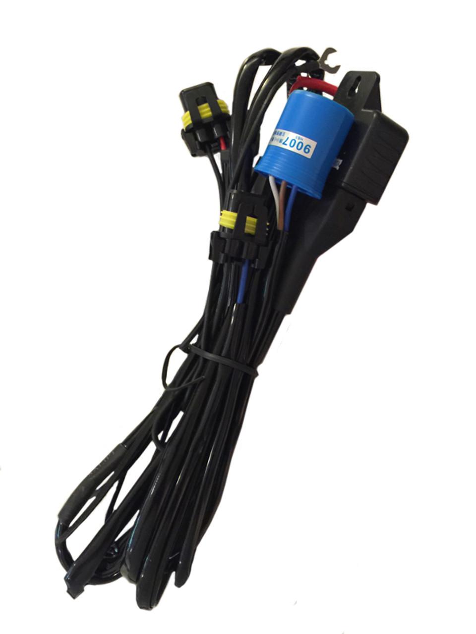 9007 Bi Xenon HID Wiring Relay Harness OVERSTOCK SALE