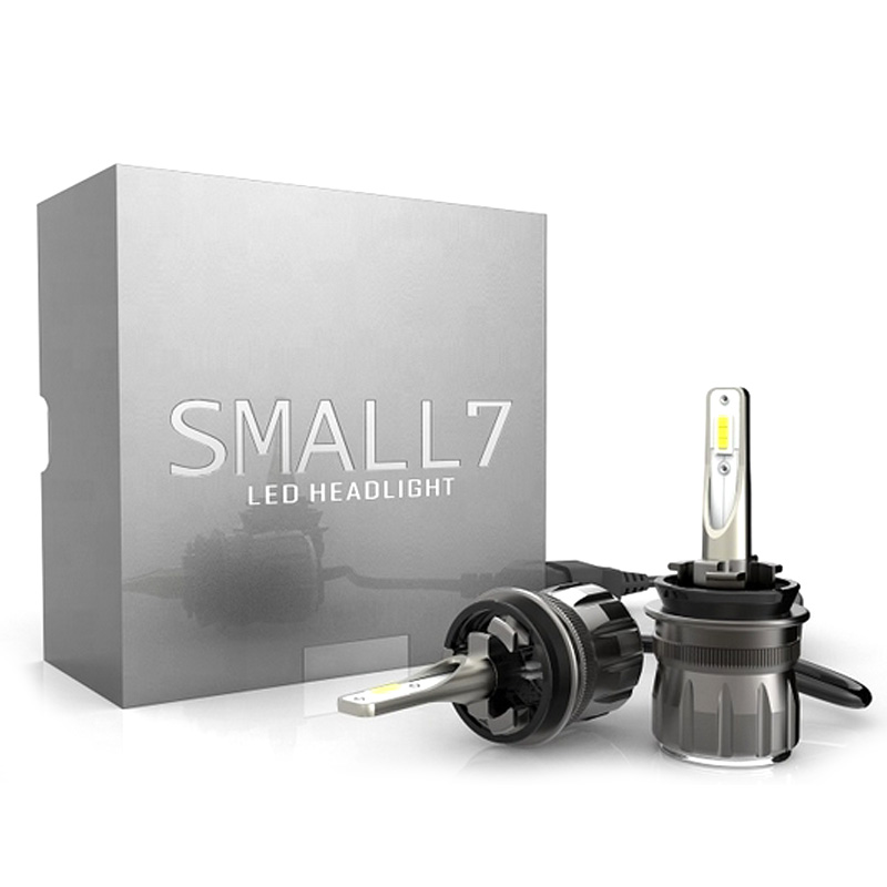 BEST LED Kit for Winter Driving! S7 Series LED bulbs are designed to blow hot  air back into the headlight.