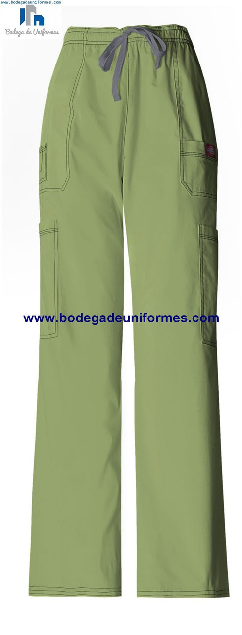 Dickies Medical 81003 Dsgz Pantalon Para Hombre Tipo Cargo De 7 Bolsas Bodega De Uniformes Dickies Cherokee Grey S Anatomy