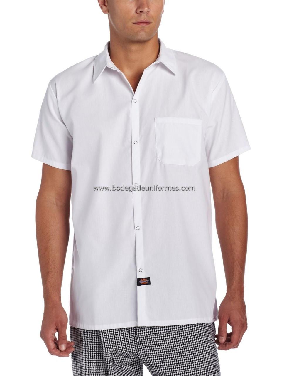 7e86ff5e22 Dickies Chef DC125 Camisa para Chef con Bolsa - BODEGA DE UNIFORMES ...