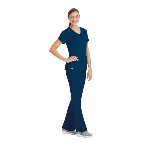 Grey's Anatomy by Barco 41423-23 Filipina Medica de Uniforme Quirurgico