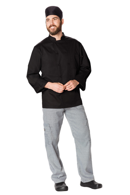 Dickies Chef DC410-BLK Filipina de Chef