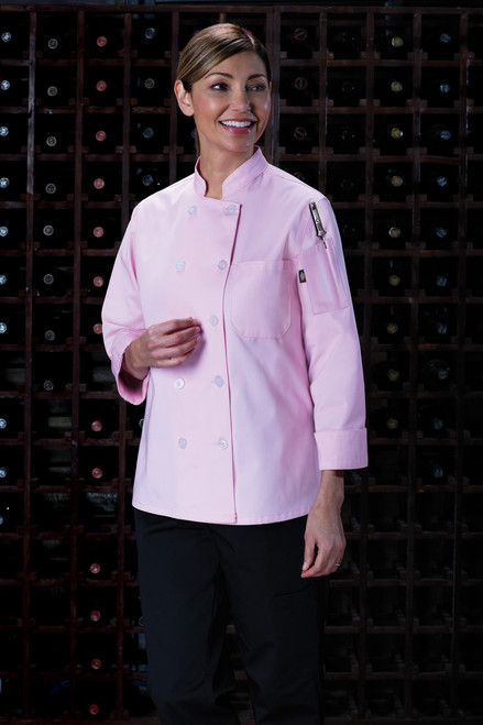 Dickies Chef DC414-PINK Filipina de Chef para Muje